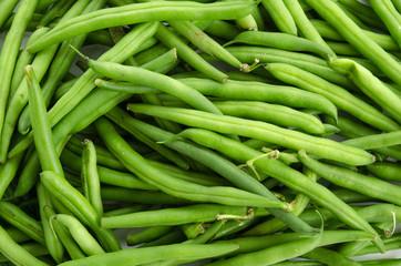 Grüne Bohnen-Hintergrund