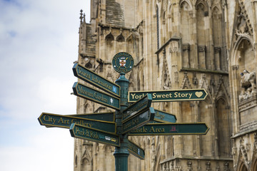 York directions post