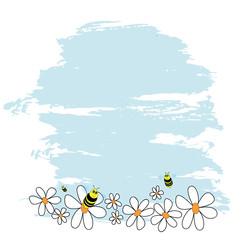 le api e le magherite
