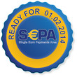 "Siegel ""Ready for SEPA"""