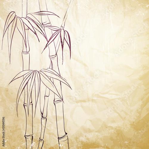 Bamboo leaf © Kotkoa