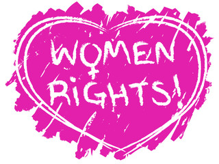 Women rights symbol