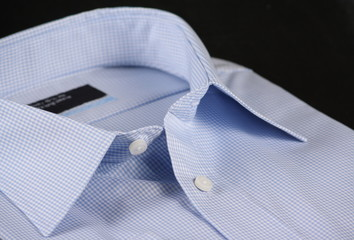 Blue Check Business Shirt
