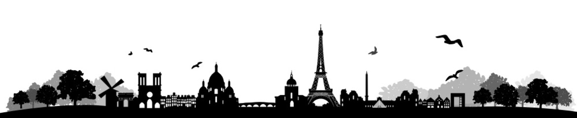 Paris Skyline Landschaft
