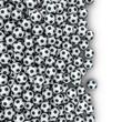 Soccer balls spill