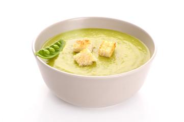 green vegetable soup