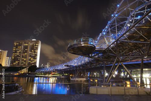 Helix Brücke, Singapur 3