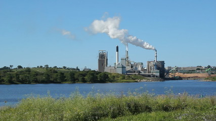 Pulp and paper factory. Saint John, New Brunswick,.