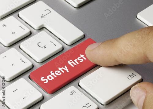 Safety first keyboard