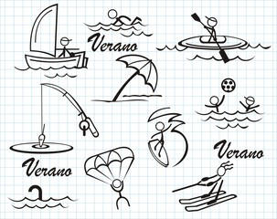 Iconos verano