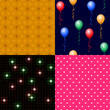 kachden collection blumen luftballon grid herzen I