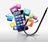 le phishing / fishing par les smartphones poster