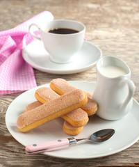 Italian savoiardi cookies, Ladyfingers
