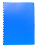 blue color cover note book