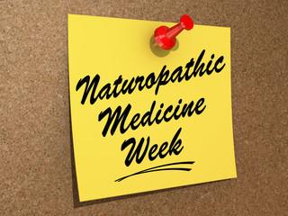 NaturoPathic Medicine Week