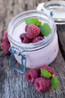 Joghurt, Himbeere