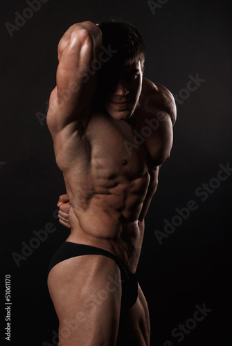 Fototapeten,modellieren,männlich,anprobieren,nude