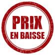 Grunge Stempel rot rund PRIX EN BAISSE
