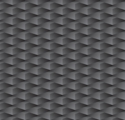 black geometric seamless pattern