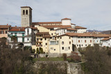 Veduta panoramica su Cividale del Friuli poster