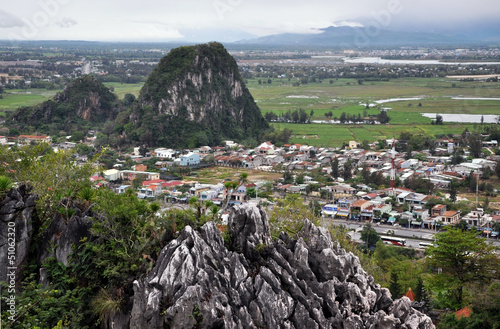 View from the Marble mountains, Da Nang, Vietnam