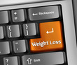 "Keyboard Illustration ""Weight Loss"""