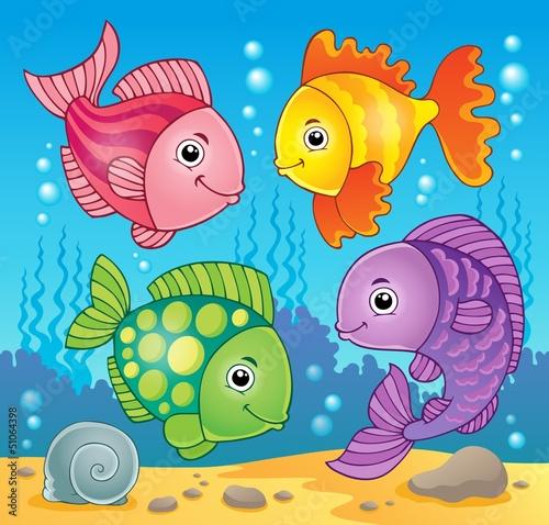 Fish theme image 5