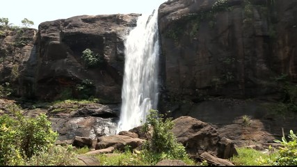 waterfalls at athirappilli