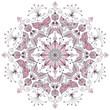 Pastel round pattern