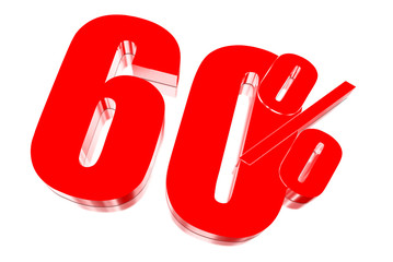60 percent discount on three-dimensional