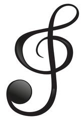 A G-clef