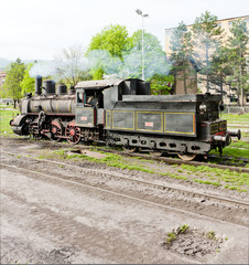 steam locomotive (126.014), Resavica, Serbia