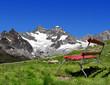 views of the Gabelhorn - Swiss Alps