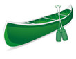 canoe vector illustration - 51074372