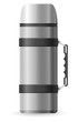 thermos vector illustration