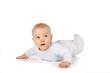 Süßes Baby schaut nach oben - sweet happy baby