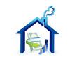 real estate business costs illustration design