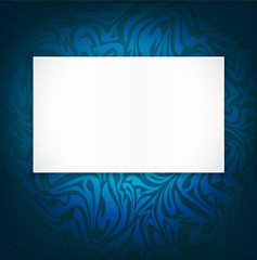 blue , vector, delicate, luxurious background with space for tex