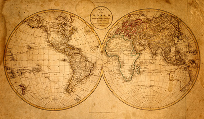 old map 1799