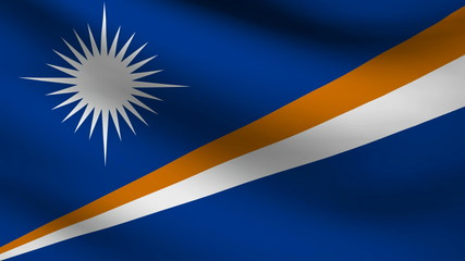 Marshall islands flag.