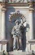 Weibliche Allegorie Gerechtigkeit (Justitia) Rathaus Harburg
