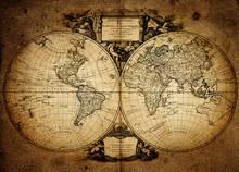 Carte du monde 1752