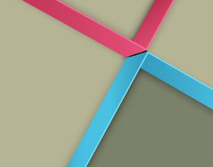 Modern vector banner (Items for Web / Business Design)