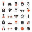Постер, плакат: Fitness an icon2