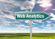 "Signpost ""Web Analytics"""