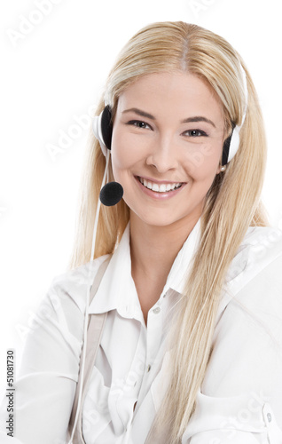 Die freundliche Stimme am Telefon - Online Shopping