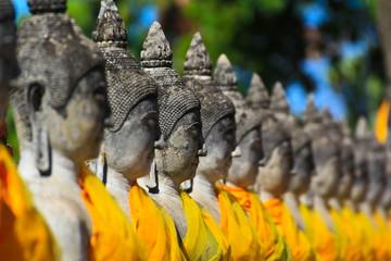 Wat Yai Chai Mongkhol in Ayuthaya province of Thailand