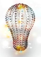 Idea concept, geniale, creatività, inventiva, lampadina