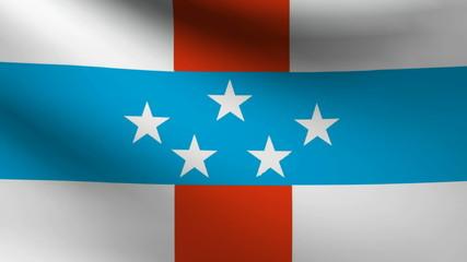 Netherlands Antilles flag.