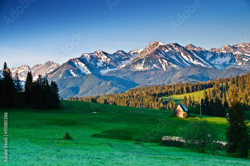 Polish Tatra mountains panoram in the morning © great_photos